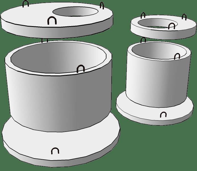 Крышка для бетонных колец