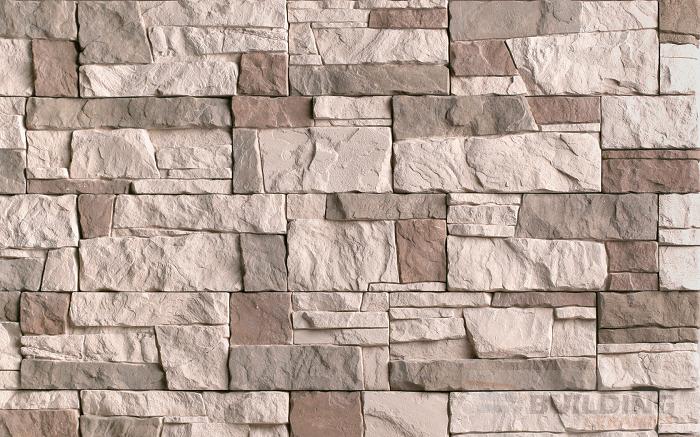плитка фасадная под камень абрау 1085