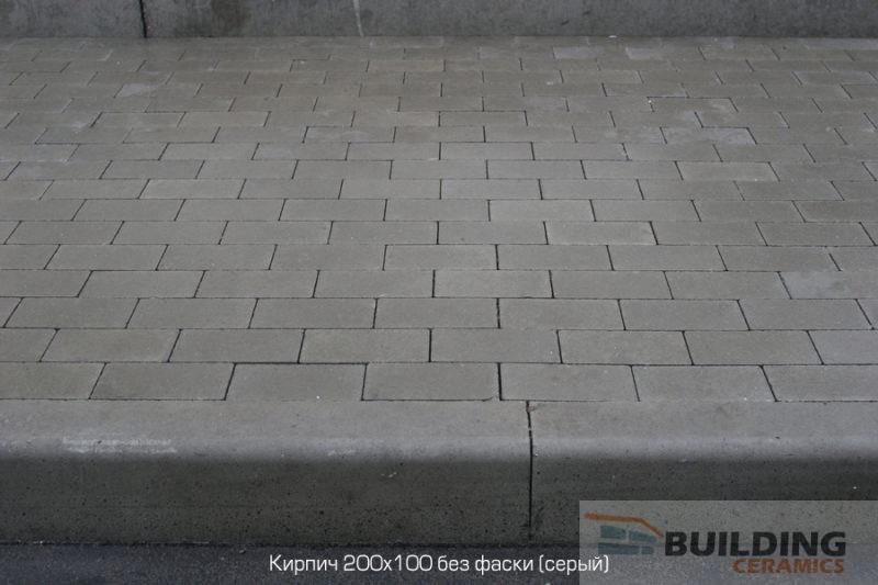 тротуарная плитка кирпич стандарт золотой мандарин