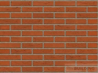 кладка стены клинкер оранжевый голландский кирпич ручной формовки