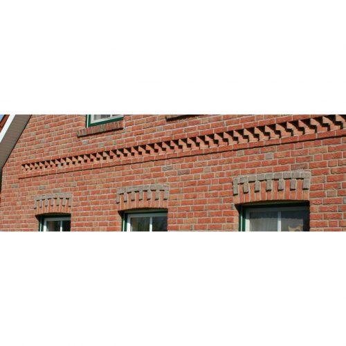 дом из немецкий облицовочный клинкерный кирпич ручной формовки ОЛфри Patina Handform, NF