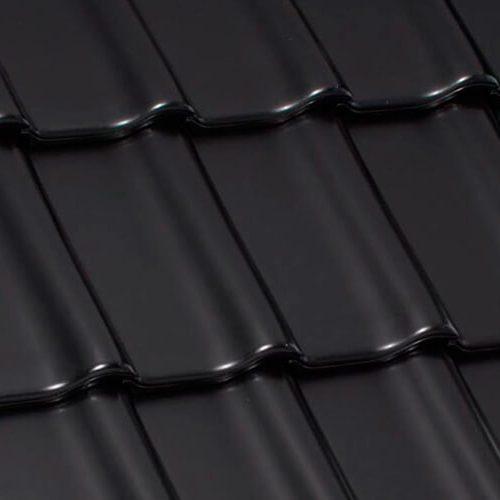 черепица кераимческая черная матовая глазурь лауманс будкерамика