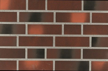 облицовочная клинкерная плитка ammonit 92905 фасадная плитка коричнево оранжевый нюанс