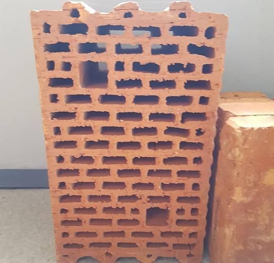 круноформатный блок керамический керамейя 25