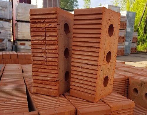 красный керамический полуторный кирпич м150 новоалександровка будкерамика