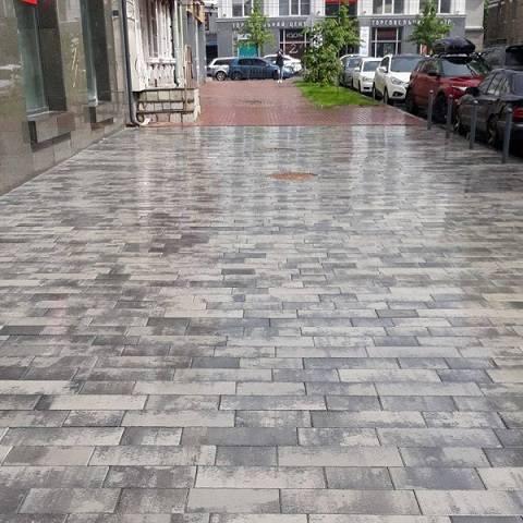 тротуарная плитка палуба колормикс классик роксайд будкерамика харьков
